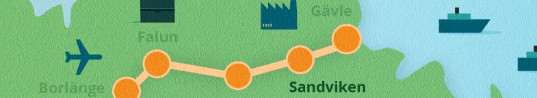Karta Sandviken